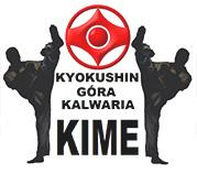 "Klub Karate Kyokushinkaikan Góra Kalwaria ''KIME"" Logo"