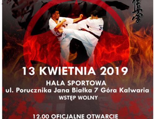 13 kwietnia ZAPRASZAMY na I turniej kumite POKKS – Góra kalwaria