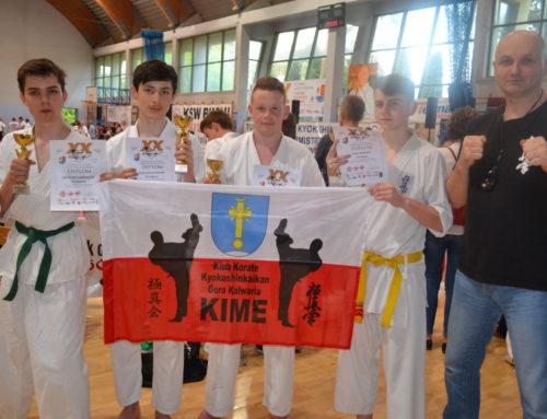 XX Turniej Karate Kyokushin o Puchar Burmistrza Józefowa