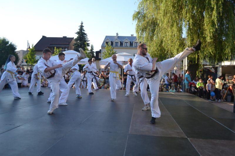 Góra Kalwaria pokaz klubu karate