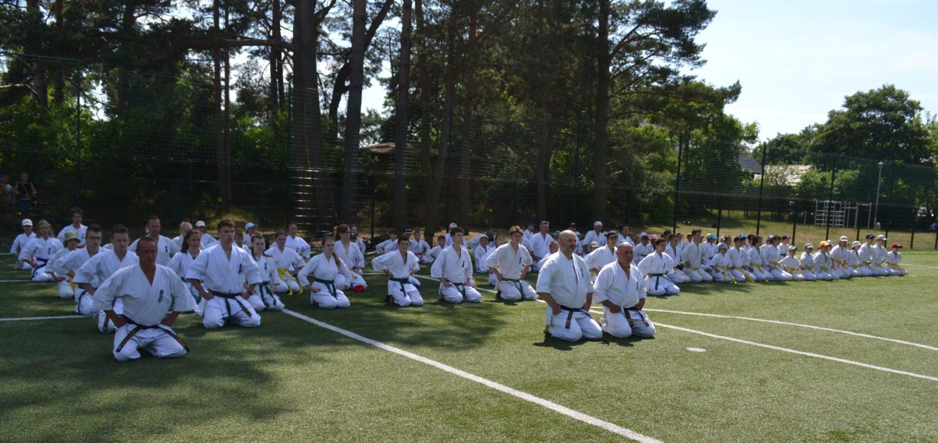 Obóz klub karate